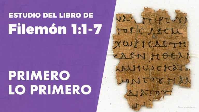 Estudio del Libro de Filemón 1:1-7, Como Enfrentar Conflictos Y Alcanzar Reconciliación (PuraBiblia)