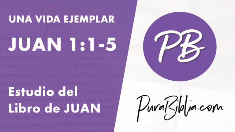 Juan 1:1-5, Introducción al Libro de Juan (PuraBiblia.com)