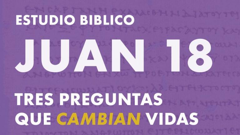 Estudio del libro de Juan, Capitulo 18